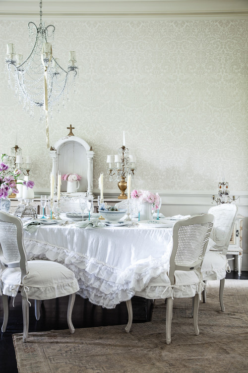 13 Shabby Chic Dining Room Ideas - Town & Country Living