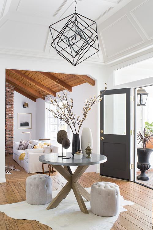 Modern Neutral Decor in California Home