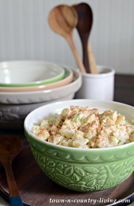 Best Ever Vintage Potato Salad Recipe