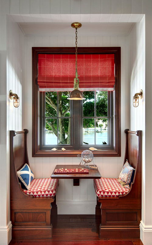 Country Red Dining Nook