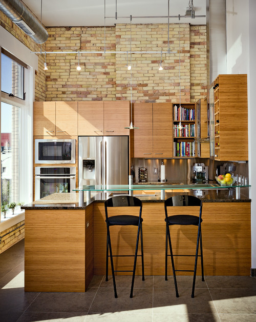 Industrial Urban Loft Kitchen