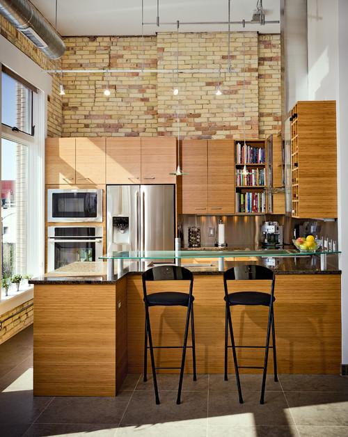 Industrial Urban Loft Kitchen