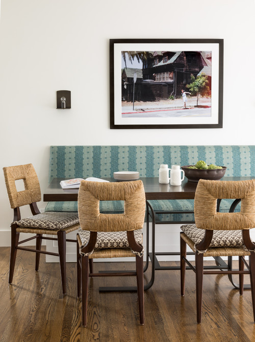 Mediterranean Style Breakfast and Dining Nook