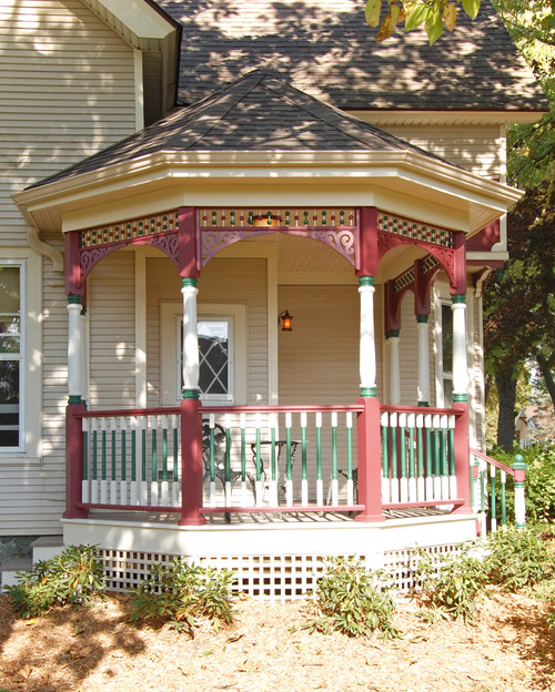 Victorian Painted Lady Porch