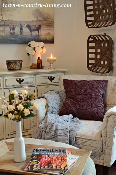 Cozy Fall Decorating with Pottery Barn