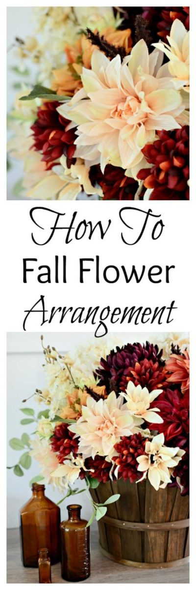 How to Create a Fall Flower Arrangement