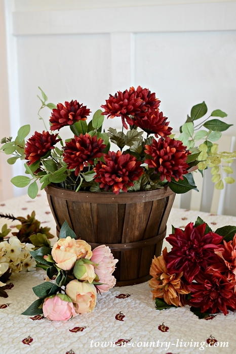 How to Create a Faux Silk Flower Arrangement