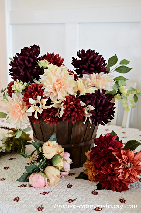 Faux Silk Fall Flowers