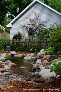Garden Pond Creates Total Backyard Transformation!