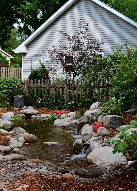 Backyard Garden Pond by Aquascape