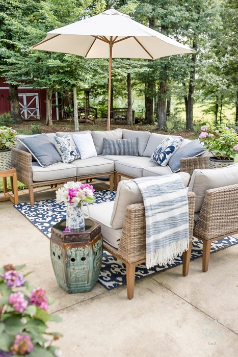 Patio with Furniture by Home Stories A to Z