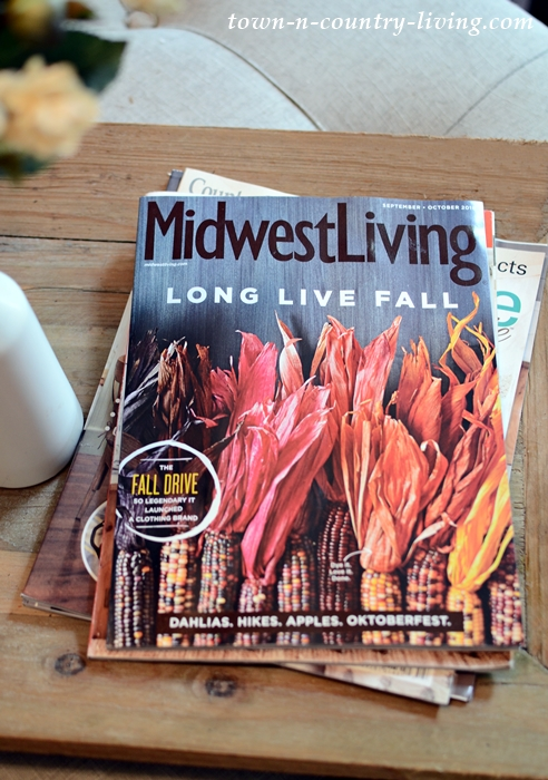 Fall Edition of Midwest Living Magazine