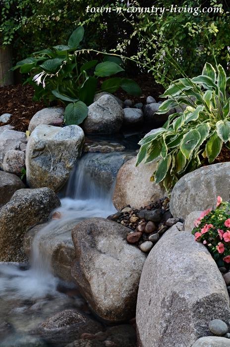 Backyard Garden Pond Waterfall