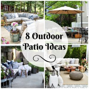 8 Patio Ideas for Outdoor Entertaining