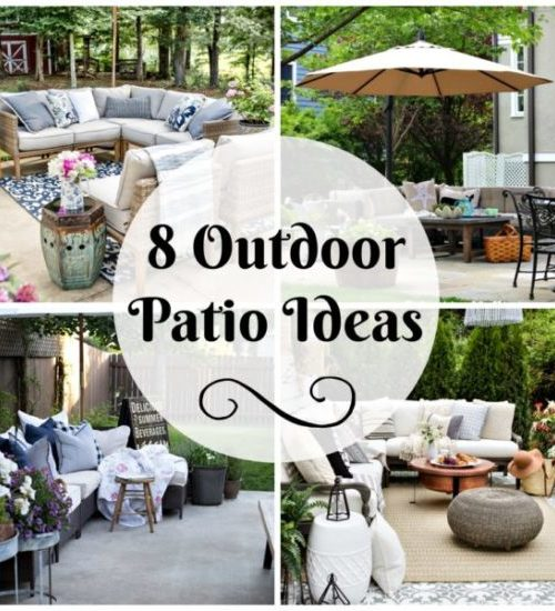 8 Outdoor Patio Ideas