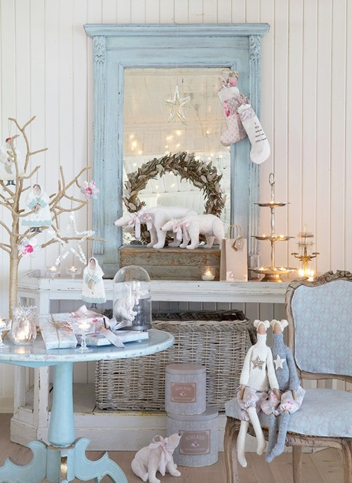 Tilda Decorating on Shabby Chic Blog - Shabby Art Boutique