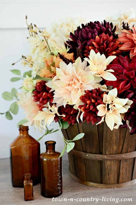 Make a Beautiful Silk Fall Flower Arrangement - Town & Country Living