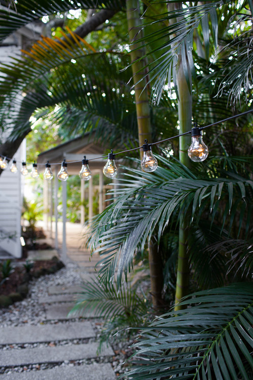 Edison Style String Lights for Outdoor Living
