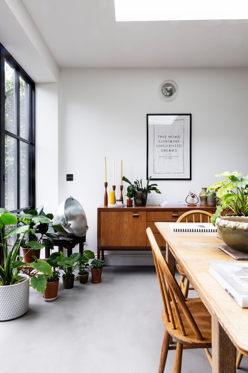 Minimalist Dining Room in London