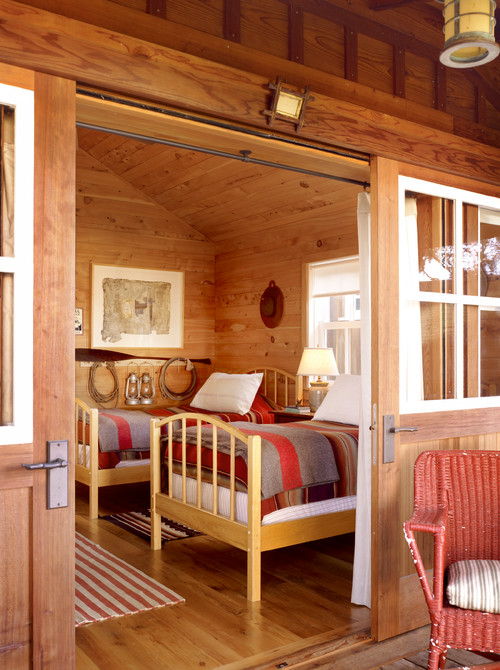 Camp Cabin Bedroom