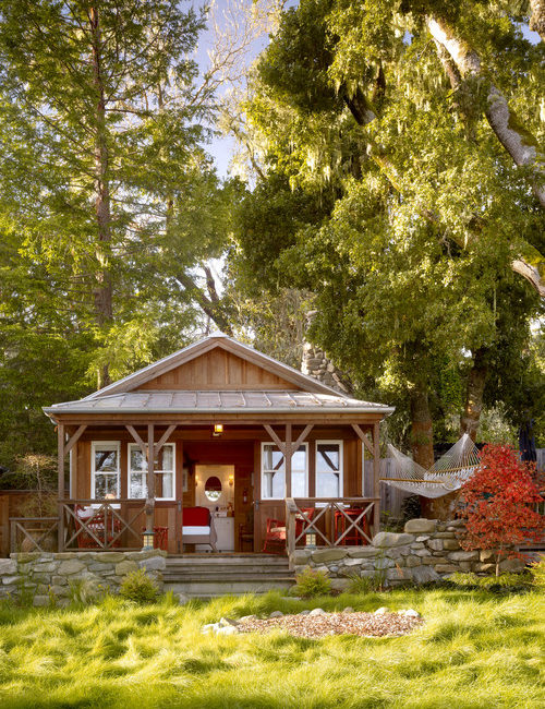 Rustic Cabin Exterior