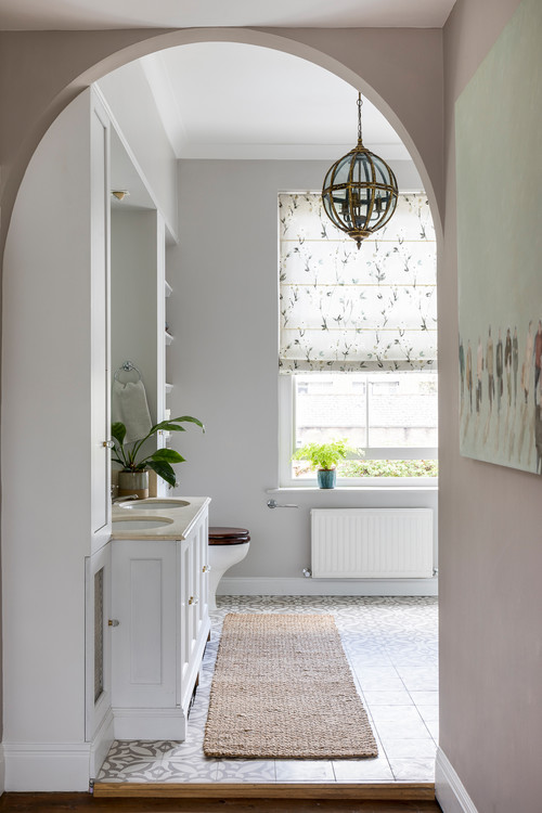 Traditional Bathroom in Georgian Style Home