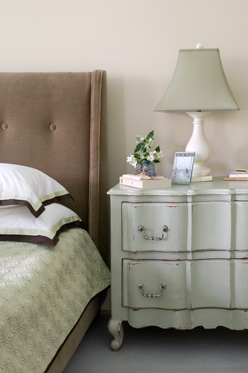 Master Bedroom in Soft Blues and Browns