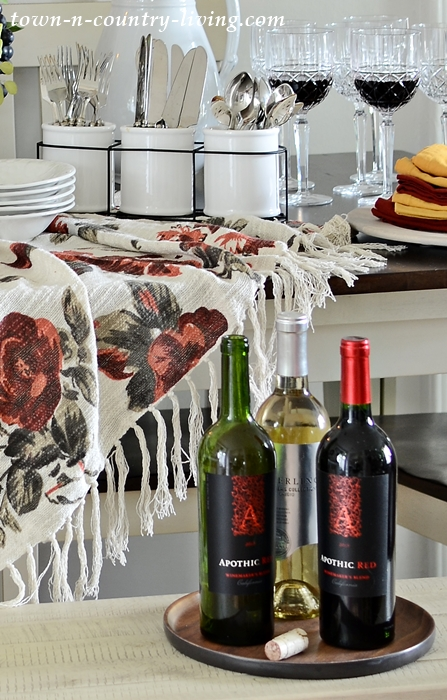 Apothic Red Wine for Fall Dining and Entertaining