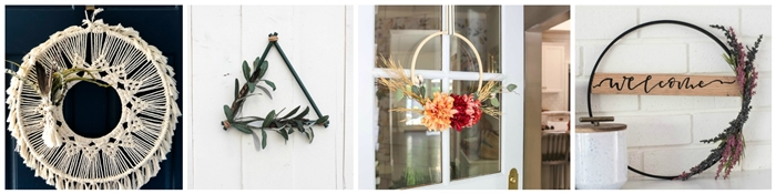 Seasonal Simplicity - Fall Wreaths