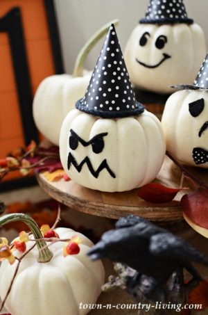 Halloween Baby Boo Pumpkin Craft
