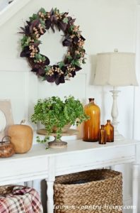Fall Berries Grapevine Wreath: Easy DIY Project