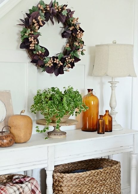 Fall Berries Grapevine Wreath You Can Make