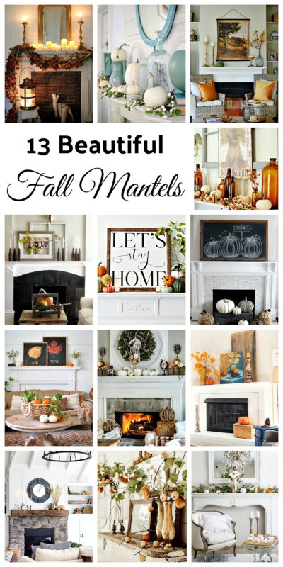 13 Fall Mantels to Inspire You