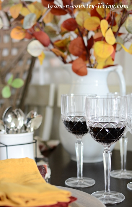 Waterford Crystal Wine Glasses for Fall Entertaining