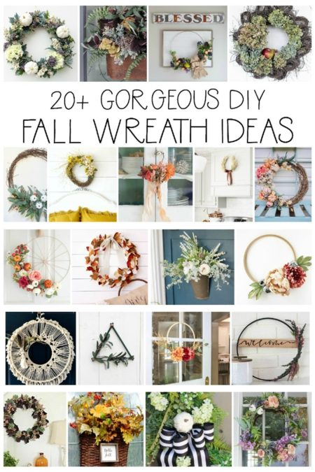 Seasonal Simplicity - Fall Wreath Ideas