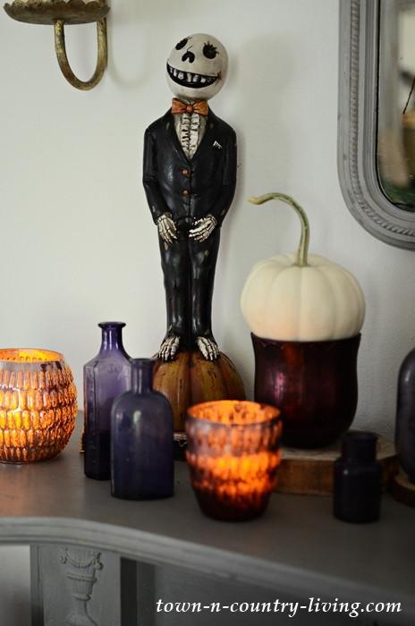 Halloween Mantel and Home Tour