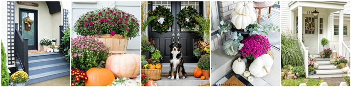 Seasonal Simplicity Fall Porch Series
