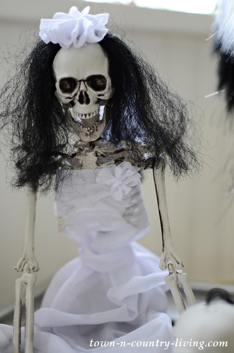 Halloween Skeleton Bride