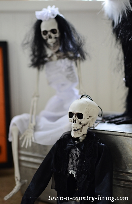 Halloween Skeleton Vignette