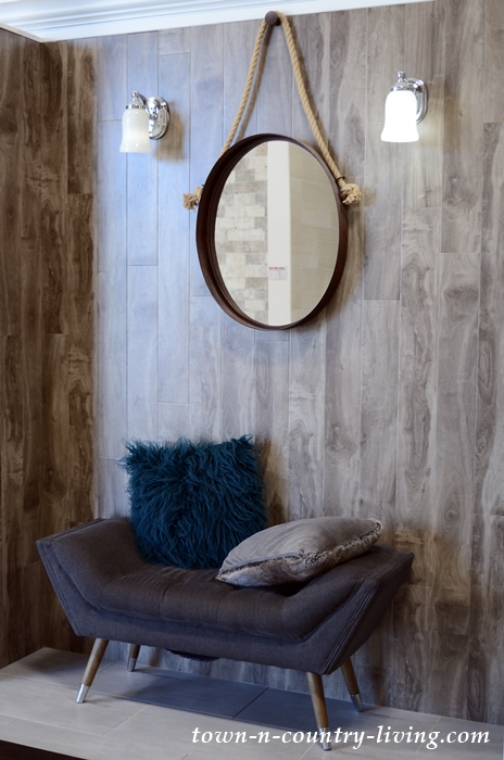 Wood Accent Wall by Floor and Decor