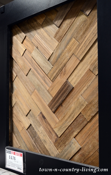 Dimensional Wood for Accent Wall Treatment