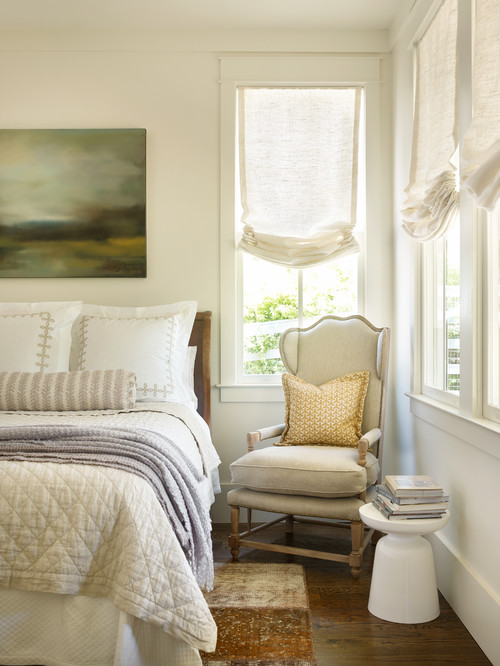 Farmhouse Bedroom in Soft Neutrals
