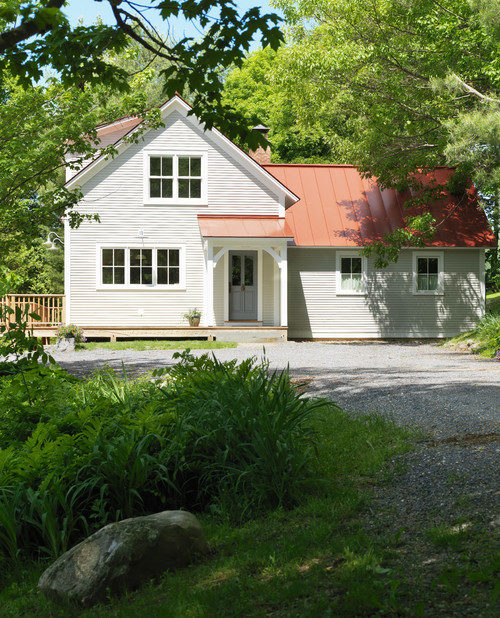 New Vermont Farmhouse on Old Foundation