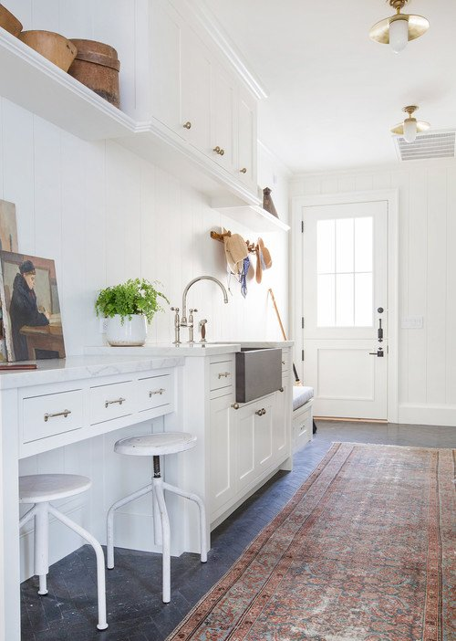 Laundry Room and Mud Room Combination