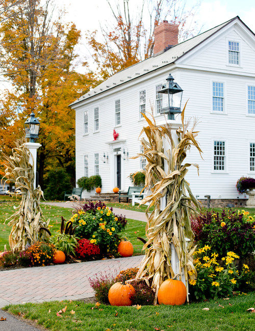 Outdoor Fall Decorating Ideas from Nature