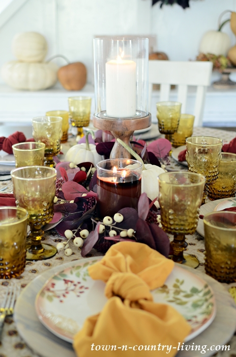 Fall Thanksgiving Table Setting