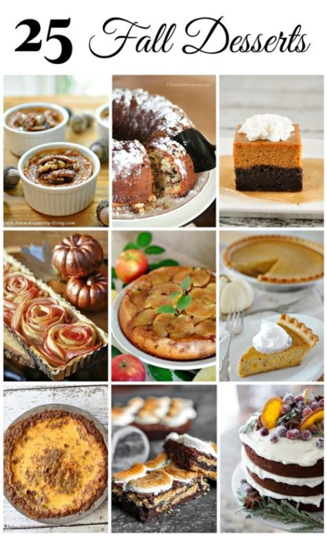 25 Must-Make Fall Desserts