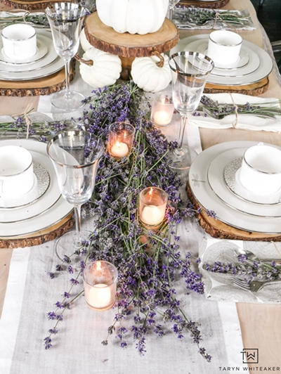 Fall Table Setting by Taryn Whitaker