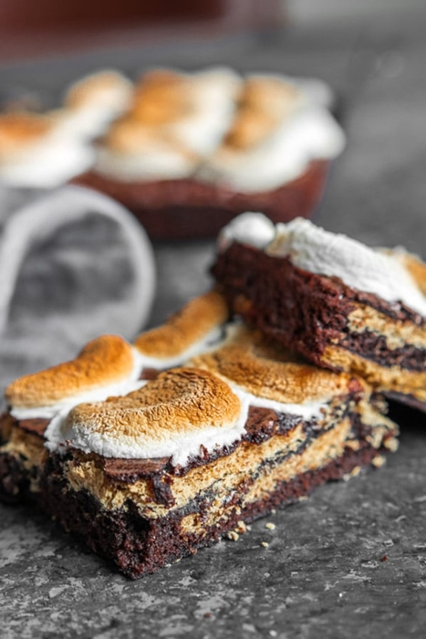 S'More Brownies by Home.Made.Interest