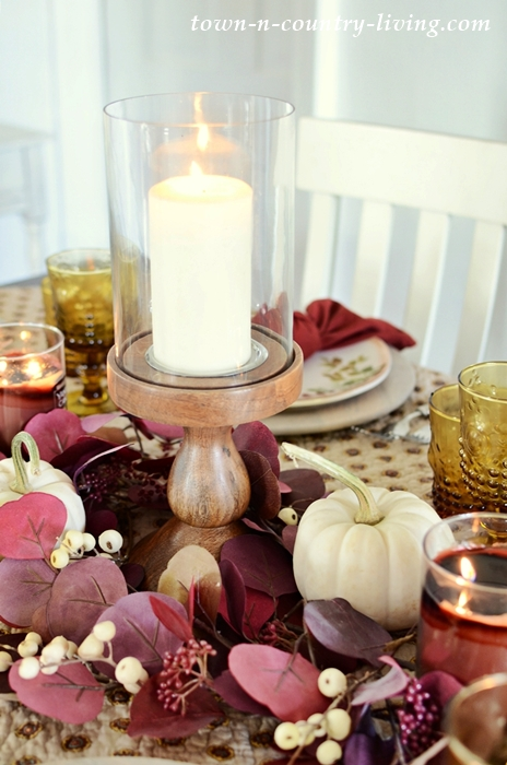 Fall Thanksgiving Table Setting Idea